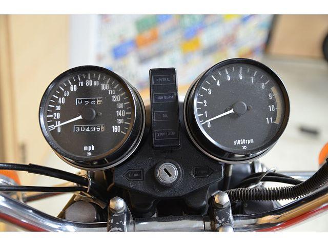 Z1000 (空冷) オリジナル度の高いKZ1000!