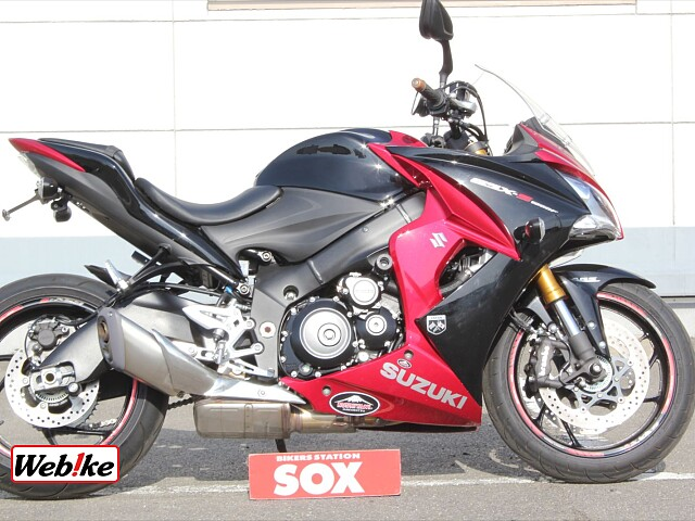 GSX-S1000F ABS フェンダーレス 1枚目ABS フェンダーレス