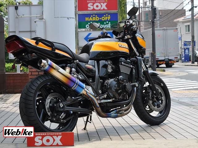 ZRX1200R ワイバンフルエキ 2枚目ワイバンフルエキ