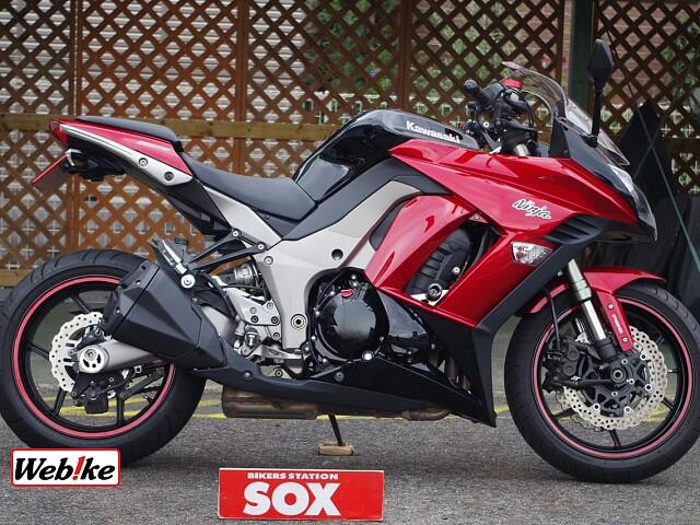 ニンジャ1000 (Z1000SX) エンジンスライダー装備 1枚目エンジンスライダー装備
