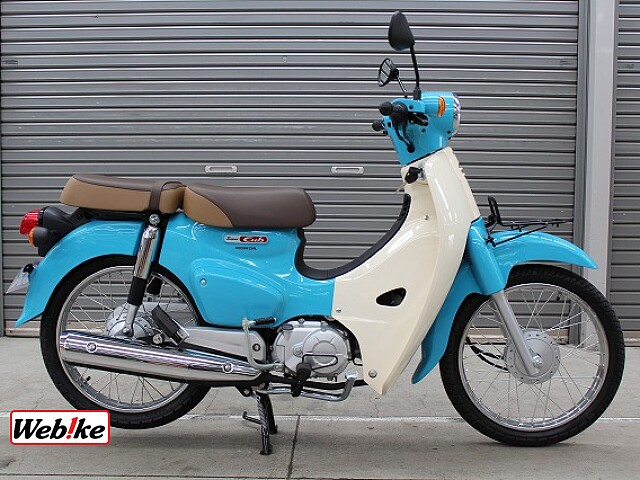 スーパーカブ110 タイモデル 国内未発売カラー 1枚目:タイモデル 国内未発売カラー