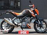 200DUKE/KTM 200cc 山梨県 バイカーズステーションソックス甲府店