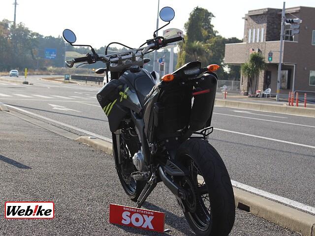 WR250X ZETAナックルガード装備 5枚目ZETAナックルガード装備