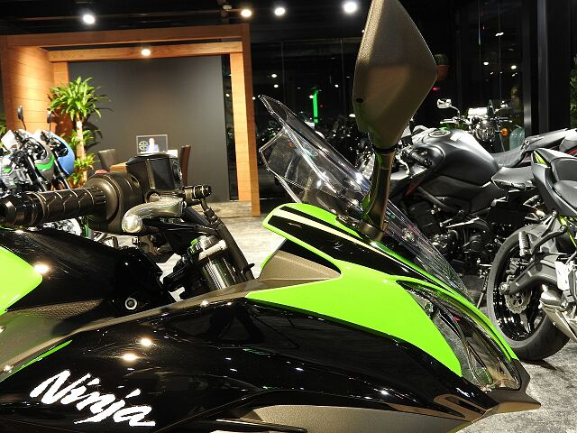 Ninja 650 相模原エリア唯一のカワサキプラザ店です。