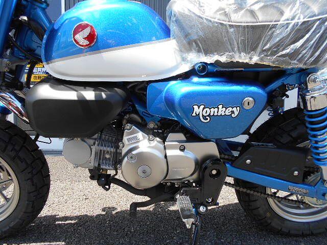 モンキー125 排気量が大きくなても一目で伝わるモンキーらしさ!