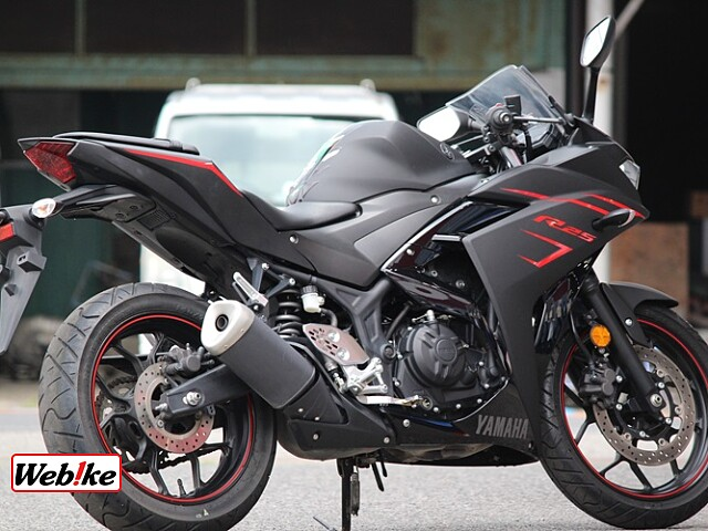 YZF-R25 SP忠男マフラー 2枚目SP忠男マフラー