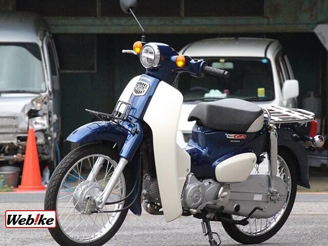 スーパーカブ50 60THアニバーサリーモデル 4枚目60THアニバーサリーモデル