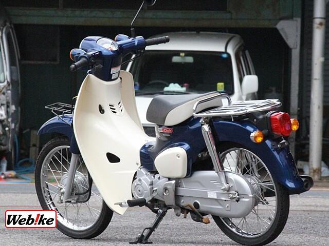 スーパーカブ50 60THアニバーサリーモデル 5枚目60THアニバーサリーモデル