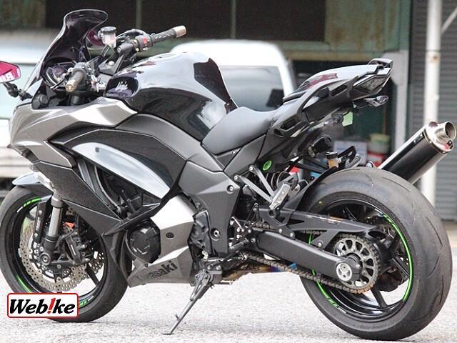 ニンジャ1000 (Z1000SX) ABS 5枚目ABS