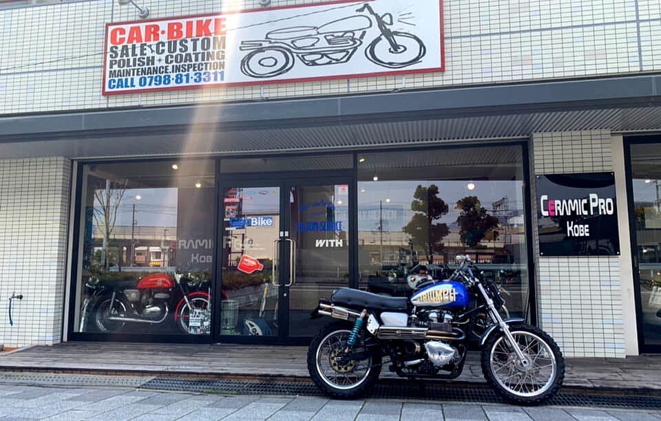 DECUS SOLE MOTOR CUSTOM & SERVICE セラミックプロ神戸
