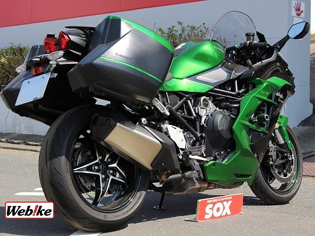 Ninja H2 SX SE 2枚目:SE