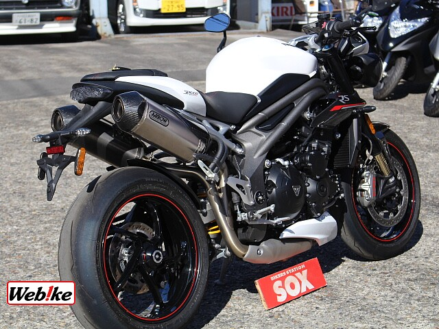 SPEED TRIPLE RS 2枚目RS