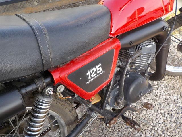 TS125 ハスラー