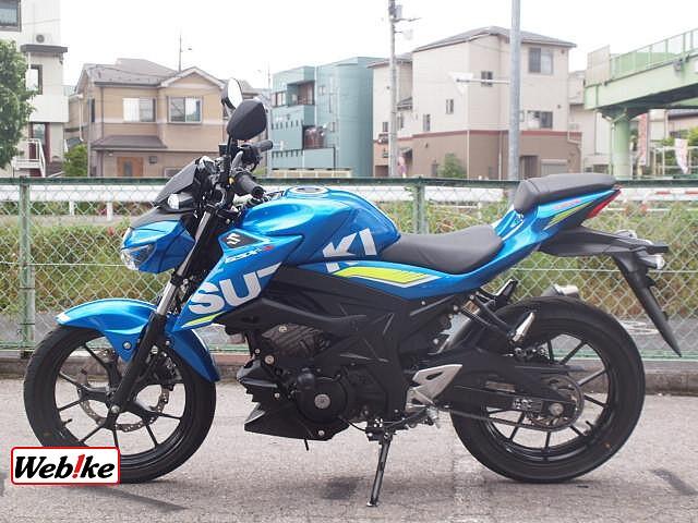 GSX-S125 3枚目
