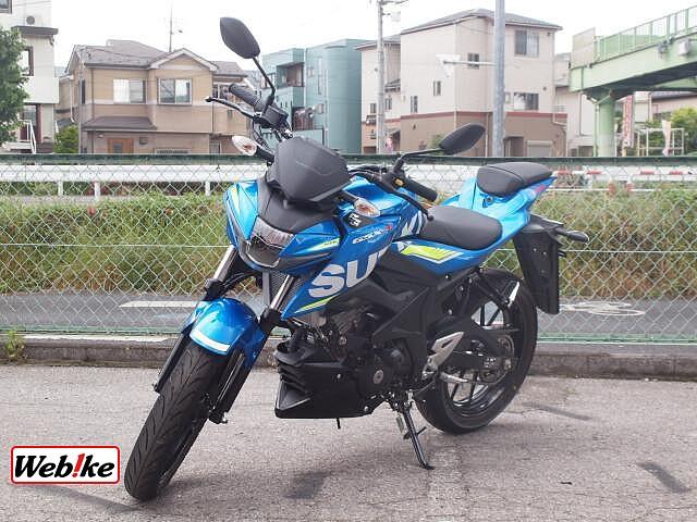 GSX-S125 4枚目