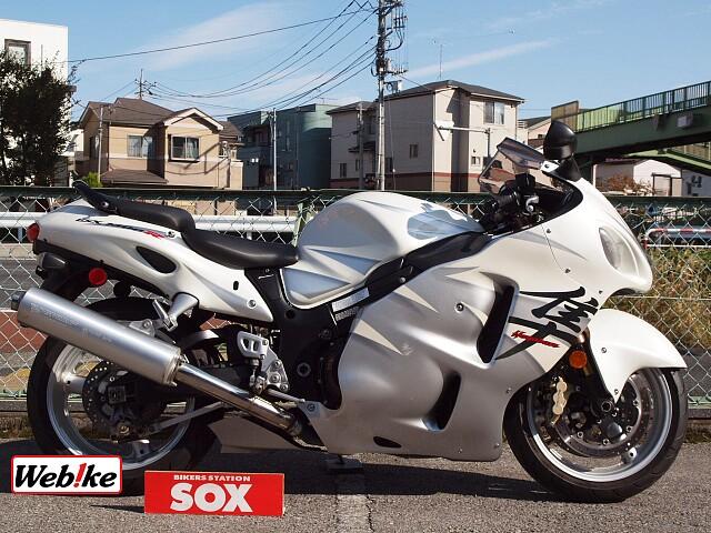 GSX1300R ハヤブサ(隼) 限定白ブサ 1枚目限定白ブサ