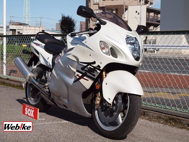 GSX1300R ハヤブサ(隼) 限定白ブサ 3枚目限定白ブサ