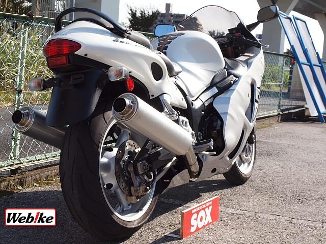 GSX1300R ハヤブサ(隼) 限定白ブサ 4枚目限定白ブサ