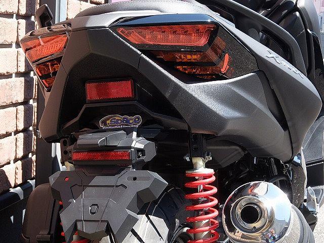 XMAX 250 ローダウン D1カスタム 新車 オリジナルスリット入りブラックテールレンズ!