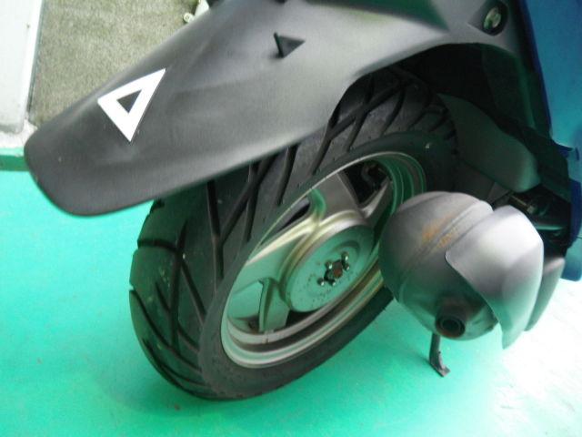 グランドアクシス 2006年モデル 希少低走行 リヤタイヤ・ブレーキはまだまだ使えます