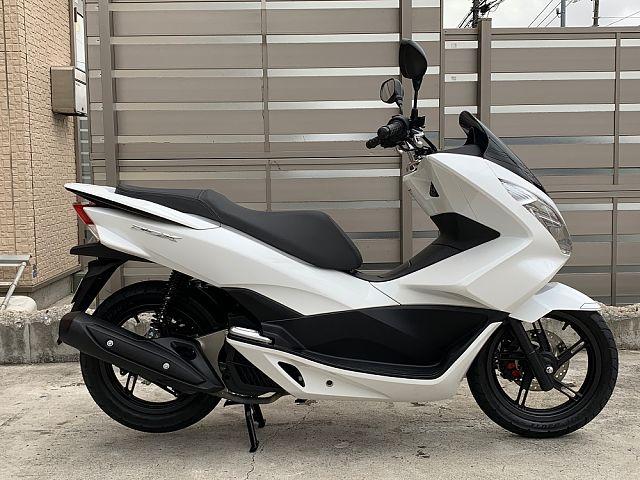 PCX125 人気のJF56 ホワイト レンタルバイクの為、在庫状況および走行距離は変動します