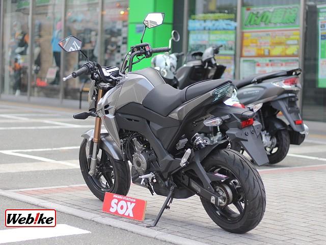 Z125 プロ 5枚目