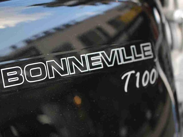 BONNEVILLE T100 8枚目