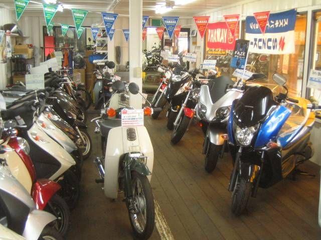 ◆バイクのことなら当店へ!