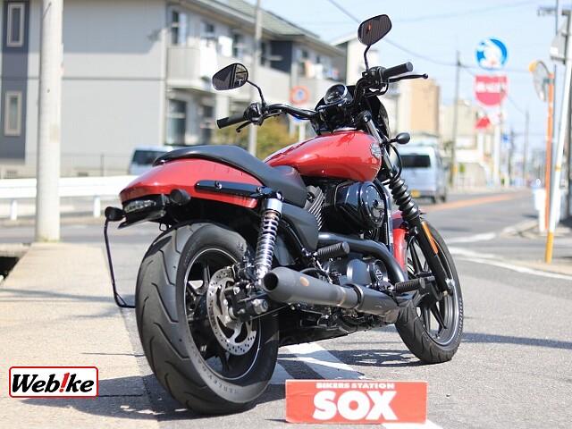 XG750 STREET750 社外マフラー 2枚目社外マフラー