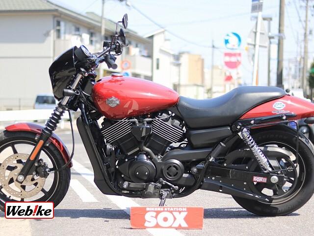 XG750 STREET750 社外マフラー 3枚目社外マフラー