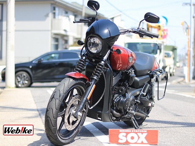 XG750 STREET750 社外マフラー 4枚目社外マフラー