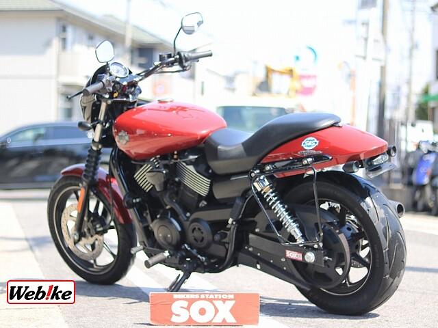 XG750 STREET750 社外マフラー 5枚目社外マフラー