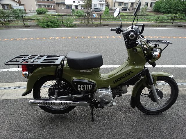 クロスカブ110 フロント武川スペシャルキャリア付