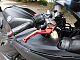 thumbnail YZF-R6 人気のマッドブラック、プロドラッグチタンマフラー付 ブレンボのハンドル回りも赤くマッド…