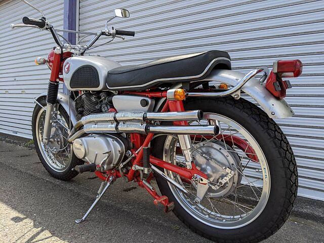 CL72 エンジン300cc