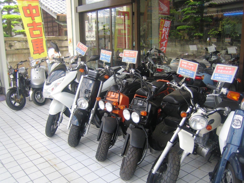 原付 中古バイク  整備付で販売中!