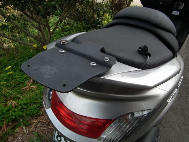 グランドマジェスティ400 ツーリングツーリングへ行こう リヤトランクBOX用べース付き