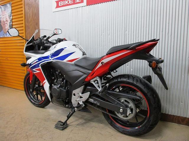 CBR400R CBR400R ABSモデル ヘルメットホルダー付き 3/1オープン!ライコランド小…