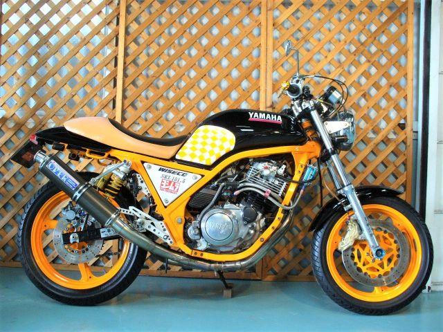 SRX600 カスタム 激烈カスタムペイント
