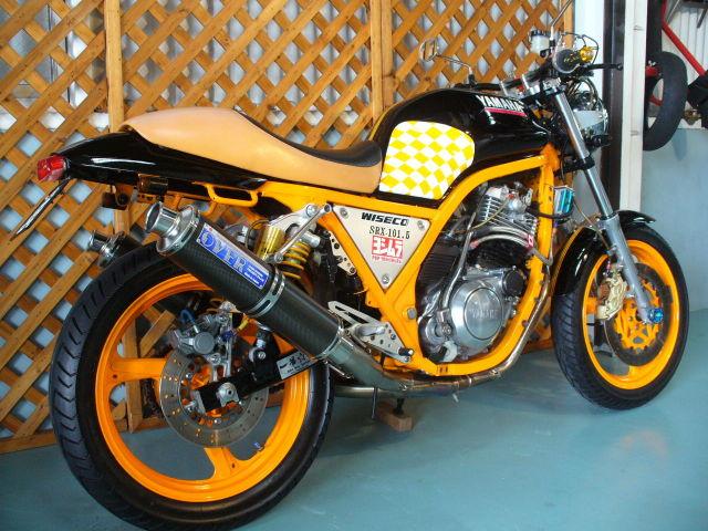 SRX600 カスタム FCRキャブレター