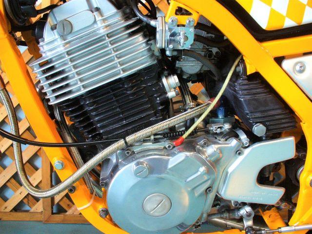 SRX600 カスタム ピカピカエンジン