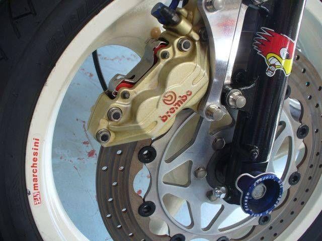 SRX600 ★フルカスタム★ マグホイールにブレンボ!強化サスなどでカミソリハンドリングを手に