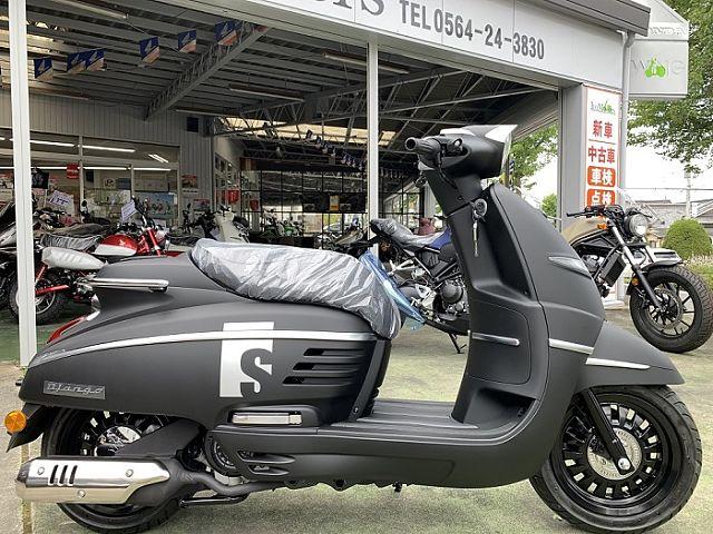 DJANGO 125S 新車2年保証!!