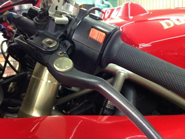 888 STRADA 正規輸入車 調整式クラッチレバー