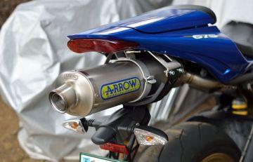 ARROW スリップオンマフラー