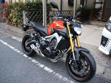 バイクと山好きさん:「MT09オレンジ」とオーナーレビュー