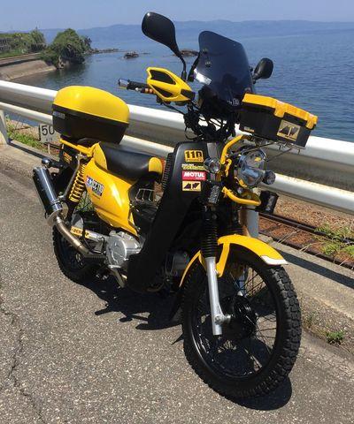 オっキーさんの愛車ホンダ クロスカブ 2015年式 Myバイク