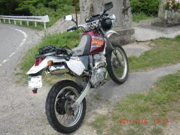 ×江戸川さん:「XR250 BAJA」とオーナーレビュー