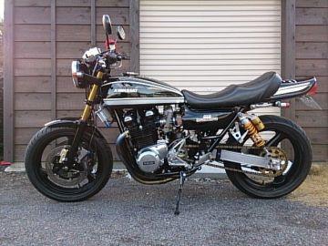 AZAMIさん:「Kawasaki Z1改」とオーナーレビュー