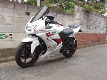 鷺忍さん:「Ninja250R WhiteFlare Ver」とオーナーレビュー